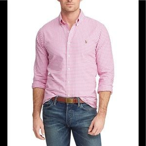 Ralph Lauren Classic Long Sleeve Button Down Shirt